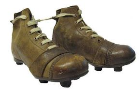 91ecedc8637 Football boot styles remained relatively constant throughout the 1900′s  up to the end of the second world war. The most significant events in the  football ...